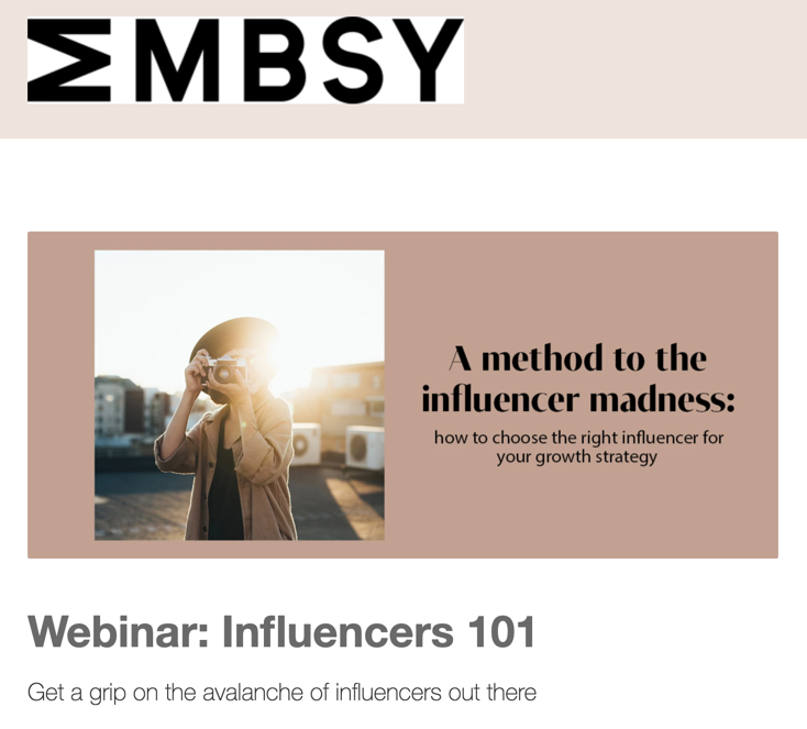 MMBSY Newsletter example